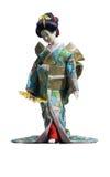 La muñeca japonesa del geisha Fotografía de archivo