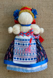 La muñeca nacional ucraniana Foto de archivo libre de regalías