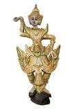 La muñeca tradicional del baile como imagen aislada fotografía de archivo