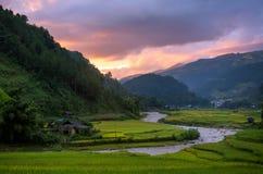 La MU Cang Chai Image stock