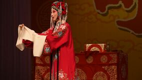 """La MU Guiying era generali eroici delle donne di Pechino un Opera"""" della donna del  del € di Yang Familyâ archivi video"""