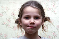 La muchacha Foto de archivo