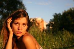 La muchacha Fotos de archivo libres de regalías