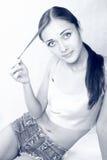 La muchacha imágenes de archivo libres de regalías
