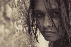 La muchacha Imagen de archivo