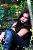 La muchacha Imagenes de archivo