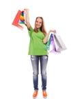 El cliente feliz Imagen de archivo libre de regalías