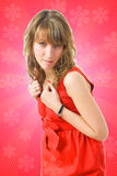 La muchacha atractiva joven Fotos de archivo