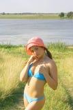 La muchacha bonita Fotos de archivo libres de regalías
