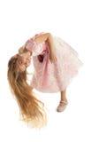 La muchacha con el pelo largo Fotos de archivo