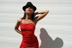La muchacha de La Habana Imagenes de archivo
