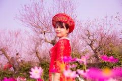 La muchacha de la primavera fotos de archivo libres de regalías
