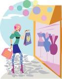forme las compras Imagen de archivo libre de regalías