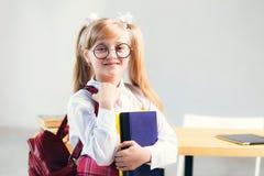 La muchacha del alumno Fotos de archivo libres de regalías