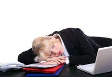 La muchacha durmiente Imagen de archivo libre de regalías