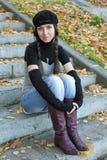 La muchacha fina Imagenes de archivo