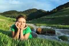 La muchacha hermosa Fotografía de archivo libre de regalías