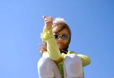 La muchacha hermosa Fotos de archivo libres de regalías