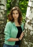La muchacha hermosa Imagen de archivo