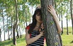 La muchacha hermosa. Imagen de archivo libre de regalías