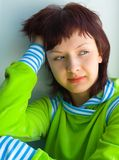 La muchacha hermosa Imagen de archivo libre de regalías