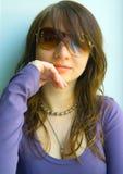La muchacha pintoresca Fotos de archivo
