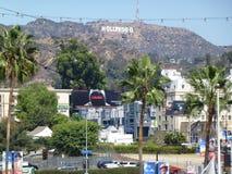 La muestra de Hollywood Fotografía de archivo libre de regalías