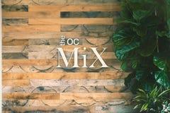 La muestra de la mezcla OC foto de archivo libre de regalías