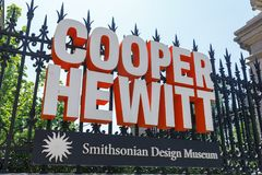 La muestra del tonelero Hewitt, museo del diseño de Smithsonian fotografía de archivo libre de regalías