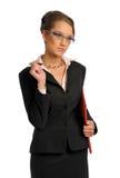 La mujer de negocios Foto de archivo libre de regalías