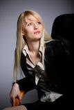 La mujer de negocios atractiva joven Foto de archivo
