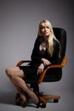 La mujer de negocios atractiva joven Fotos de archivo