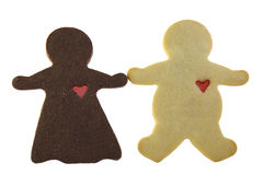 La mujer del chocolate quiere Wh pastoso Fotografía de archivo libre de regalías