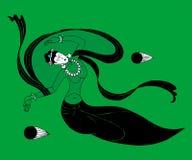 La mujer del mito Imagen de archivo libre de regalías