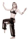 La mujer en juego de baile del este Foto de archivo