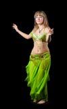 La mujer en juego de baile del este Foto de archivo libre de regalías