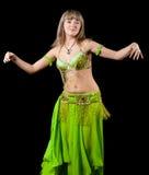 La mujer en juego de baile del este Fotos de archivo libres de regalías