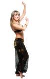 La mujer en juego de baile del este Fotografía de archivo libre de regalías