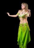 La mujer en juego de baile del este Imagen de archivo