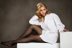 La mujer joven sexual Imagen de archivo