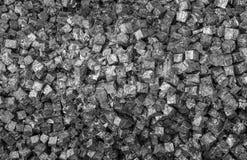 La multiplicidad de cajas del metal en un envase imagenes de archivo