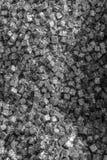 La multiplicidad de cajas del metal en un envase fotos de archivo libres de regalías
