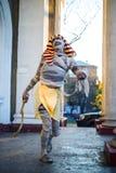 La mummia è Immagini Stock Libere da Diritti