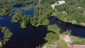 """la Museo-fortezza """"Korela """"è situata in Priozersk, regione di Leningrado, Russia video d archivio"""