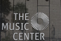 LA music center detail Royalty Free Stock Images