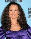Alicia Keys Immagini Stock Libere da Diritti