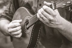 La musica ed il cuore del Brasile fotografie stock