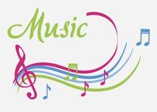 La musique illustration libre de droits