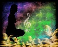 La musique de la nature Photographie stock libre de droits