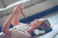 La musique fait son jour Photographie stock